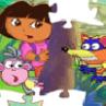 Jocuri cu Dora si Diego Puzzle