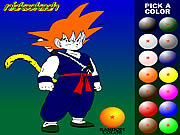 Dragon Ball Z De Colorat