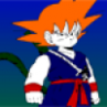Jocuri cu Dragon Ball Z - colorează personajul