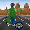 Jocuri cu Ben 10 Pe Skateboard