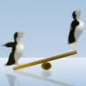 Jocuri cu Pinguini pe Gheata