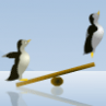 Pinguini pe Gheata